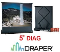 DRAPER ROAD PROJECTION SCREEN   Mississauga, L5N