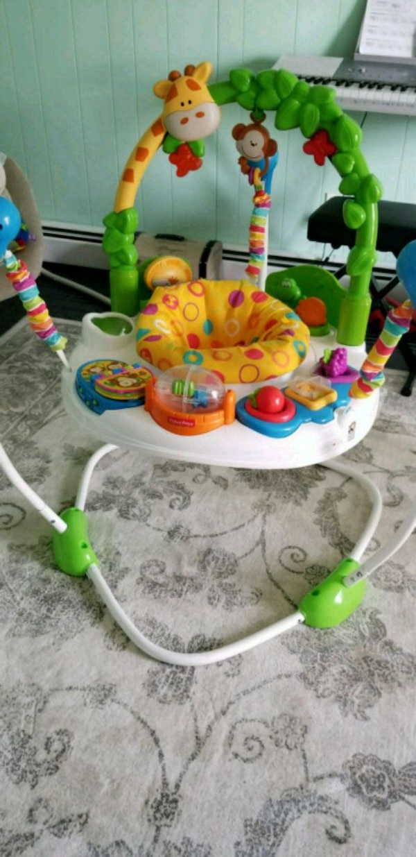 116f5838c22a Used Baby Jumper- Fisher Price Go Wild Jumperoo for sale in West ...