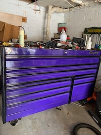 Snap on tool box purple &black with black wheels Takoma Park, 20912
