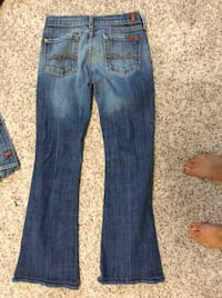 7 for all man kind women's jeans Retails for $180 size 26 Marietta, 30064