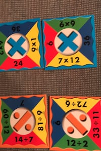 Multiplication & Division Dominoes-great condition Columbia, 21045