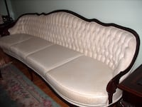 French Style 4 seater sofa & arm chair Vaughan