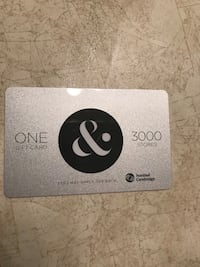 Niagara outlet mall gift card St. Catharines, L2V