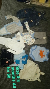 toddler's assorted clothes Newman, 95360