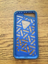 Blue iPhone 6S Zagg case