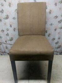 brown wooden framed brown padded chair Chambersburg, 17202