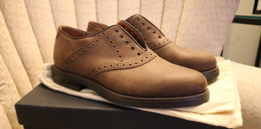 Never been worn Johnston & Murphy Italian Mens Shoes c24982a2-9a73-4be8-923b-5cb409c38ac2