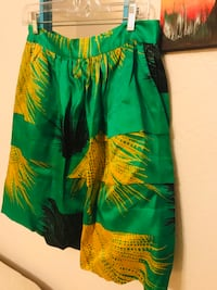 Anthropologie- Green and yellow floral dress, NEW Oklahoma City, 73132
