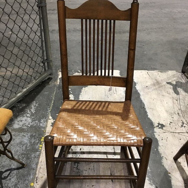 Antique cane rocking chair. In great condition. Closing antique shop and selling what's left   bca3e071-813e-4405-b0ab-3908ebfb81eb