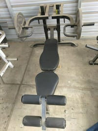 black and gray bench press Bakersfield, 93308