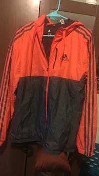 Adidas track jacket men's medium