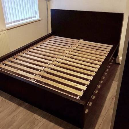 Beautiful IKEA Malm Queen Size Bed Frame EXCELLENT Condition