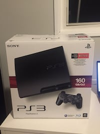 Sony PS3 slim console with controller and box Lakewood, 90715