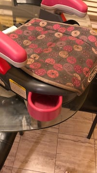 red and black floral high chair Mississauga, L5N 5G4