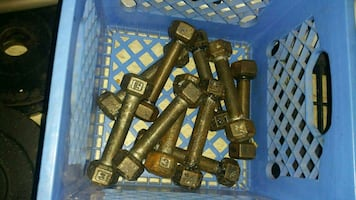 Vintage york small dumbbells