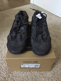 "Yeezy Boost 500 ""Utility Black"" size 12 DS  Fairfax, 22030"