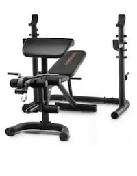 WEIDER XRS 20 OLYMPIC WORKOUT BENCH - FULL KIT