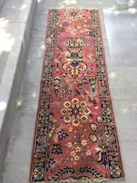 Antique rug runner 6.4x2.2 feet Owen Sound, N4K 2S6