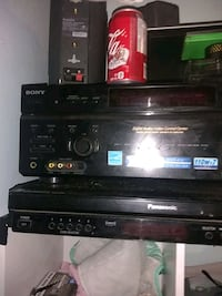 Sony amp 7.1 and dvd player  Edmonton, T5B 3B5