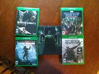 Nice collection of xbox one games Omaha