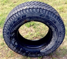 P265/70R17 Goodyear Wrangler GS-A. 1 tire, no rim. Avail if posted!