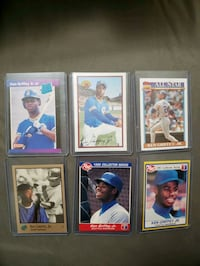 Baseball cards. Ken griffey jr. Rookies and more