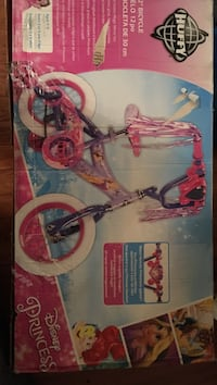 Purple and pink huffy bicycle box New York, 10455