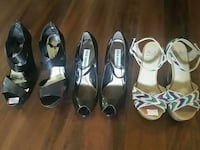 three assorted-color-and-style pumps Indio, 92203