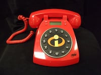 The Incredibles SBC RED Collector's Phone - Disney Pixar Los Angeles, 90064