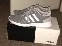 pair of gray Adidas low-top sneakers with box Indianapolis, 46214
