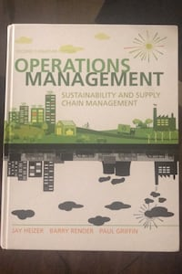 Operations Management (second Canadian edition)
