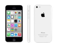 iPhone 5c white locked with bell