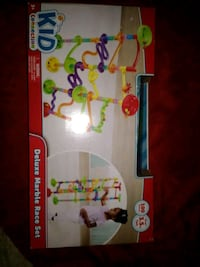 white and red Fisher-Price jumperoo box Pikeville, 27863