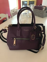 Eggplant leather Marc Jacobs bag with crossbody piece Silver Spring, 20901