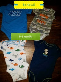 baby's assorted clothes Amarillo, 79106
