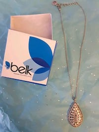 NEW!!! NEVER WORN!!! Sterling Silver Necklace Bonaire, 31005