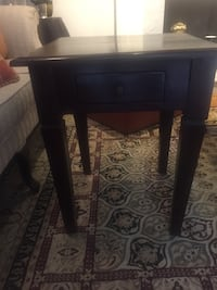Coffee table and side table- price negotiable