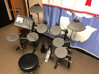Black and gray drum set Fayetteville, 30214
