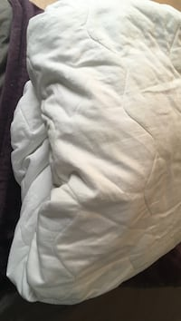 Double mattress pad