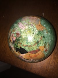 Green and brown desk globe Austin, 78745