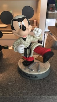 Mickey Mouse karate bobble head collectible Tampa, 33611