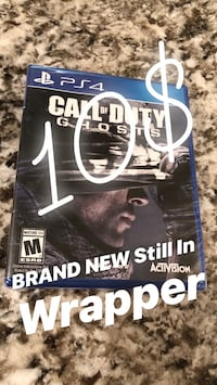 BRAND NEW PS4 Game Call Of Duty Ghosts Houma, 70360