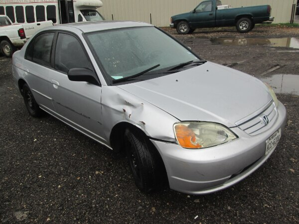 For Parts A Tan 2003 Honda Civic 4door Automatic 1 7 Engine