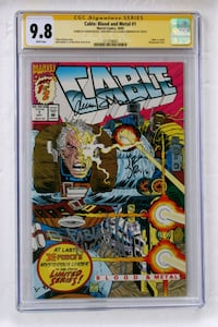 Cable: Blood and Metal 1 (Signature Series CGC 9.8 Bethesda, 20814