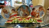 Heavenly Angel's by MaGo collector plate trio  Fort Edward, 12828