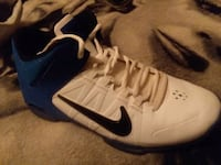 pair of white-and-blue Nike basketball shoes Casper, 82604