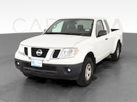2016 Nissan Frontier King Cab pickup S Pickup 2D 6 ft White <br
