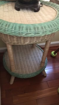 Set of 2 wicker tables Silver Spring, 20906