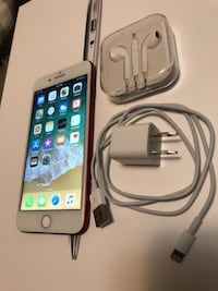 silver iPhone 6 with charger New York