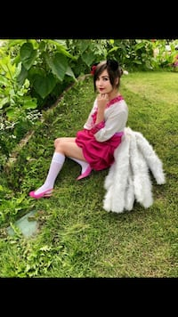 Dynasty Ahri League of Legends Cosplay Costume  Anchorage